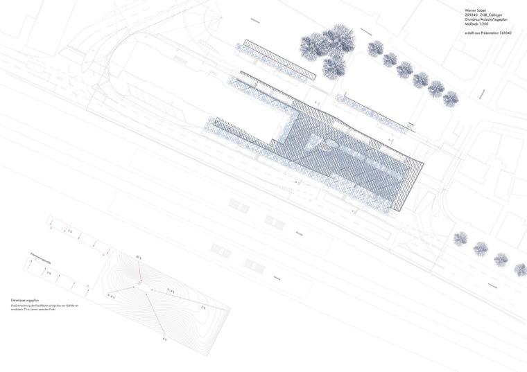 埃斯林根汽车站周围景观平面图(8)