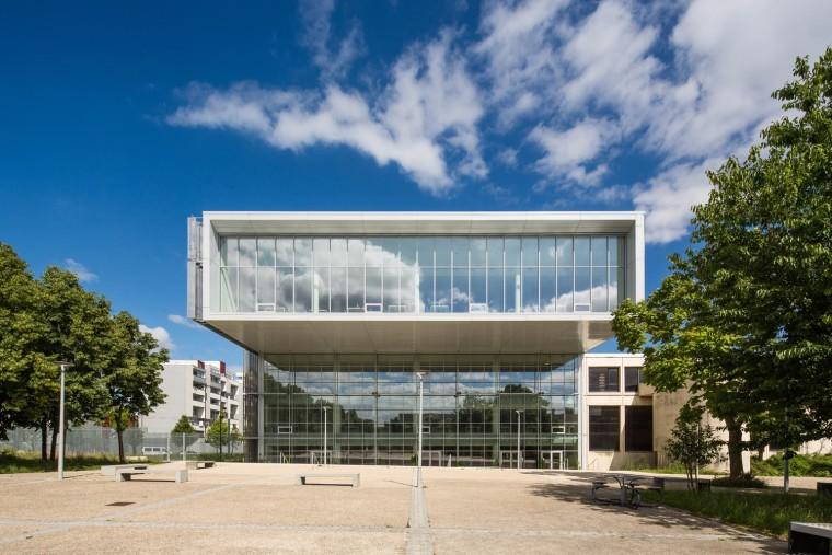法国EdgarMorin城市大学图书馆高清大图