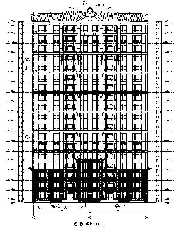 [浙江]多栋华润住宅及商业建筑施工图(含汇报文本)