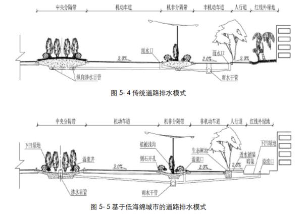"""[四川]""""海绵城市""""城乡规划专项设计详细解读文本(附规划图则+植物名录)-基于低海绵城市的道路排水模式"""
