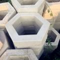 盐城护坡砖厂家边长20cm,17.5cm六角护坡砖 机制空心六角砖 预制