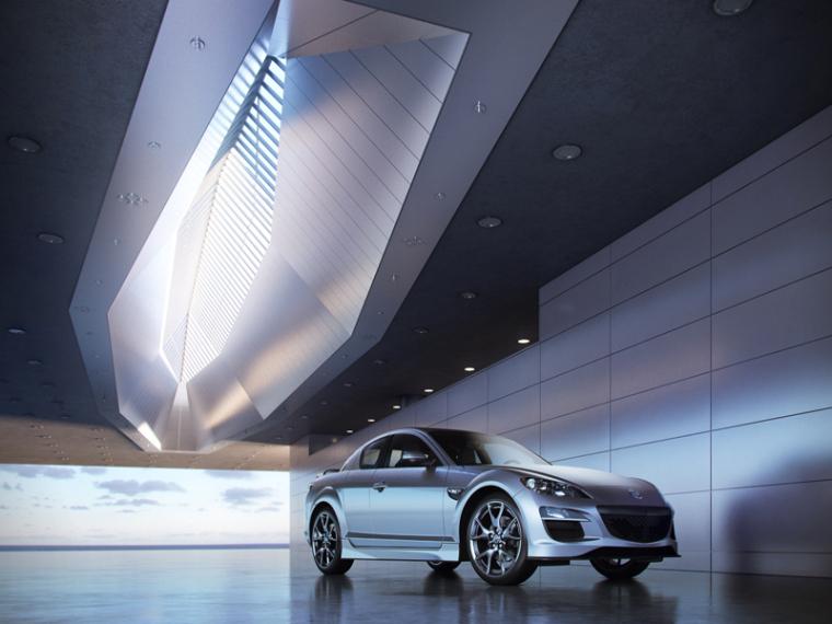 银色汽车3D模型下载_1