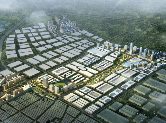 [四川]成都家具园区概念性城市设计方案文本