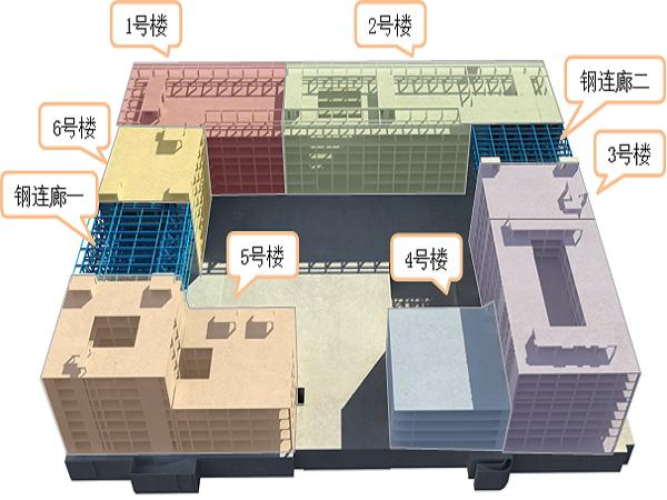 [成都]型钢混凝土钢构件及连廊钢结构施工方案(168页)
