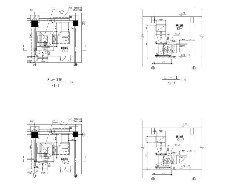 vrv空调系统资料下载-[江苏]启东市便民服务中心空调系统全套设计(含VRV系统原理图)