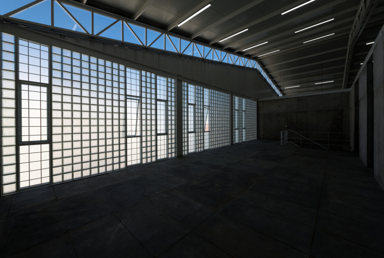墨西哥服务钢铁Xray工厂建筑-10