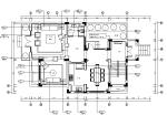 【上海】欧式风格双拼别墅CAD施工图(含效果图实景图、3D模型)