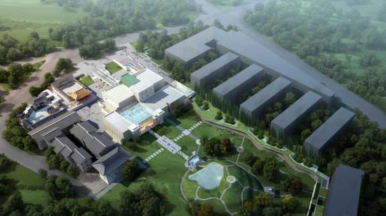 [江苏]某城市博物馆文体建筑方案设计(CAD+文本).