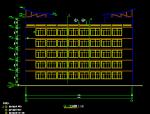 大堡5层现代风格小学全套施工图