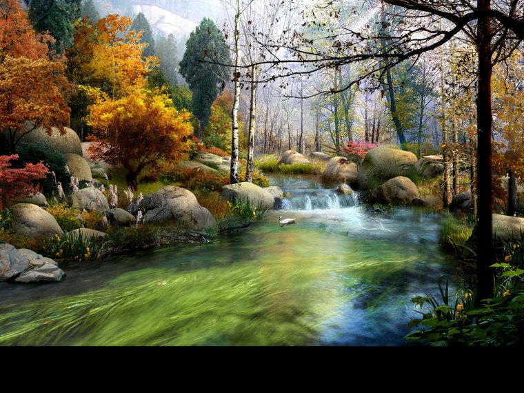 农旅景观:贵州云溪谷设计图_15