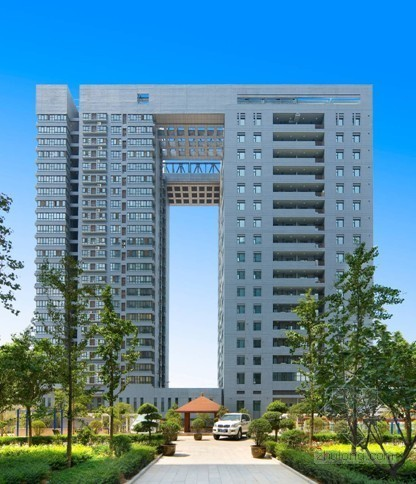 [陕西]住宅楼、实验楼施工质量情况介绍(鲁班奖PPT)