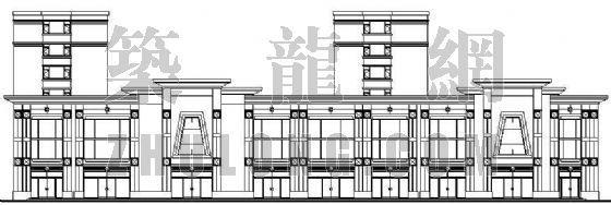 某市场及住宅多功能型建筑设计方案
