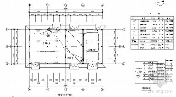 河南某污水处理厂全套电气施工图纸