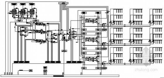 [成都]车站暖通空调设备楼控原理图