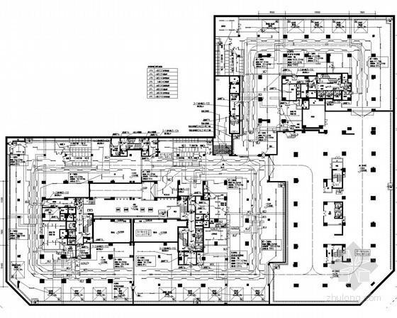 [广东]知名高层商住小区全套强弱电系统电施图149张( 配套幼儿园 变电所)