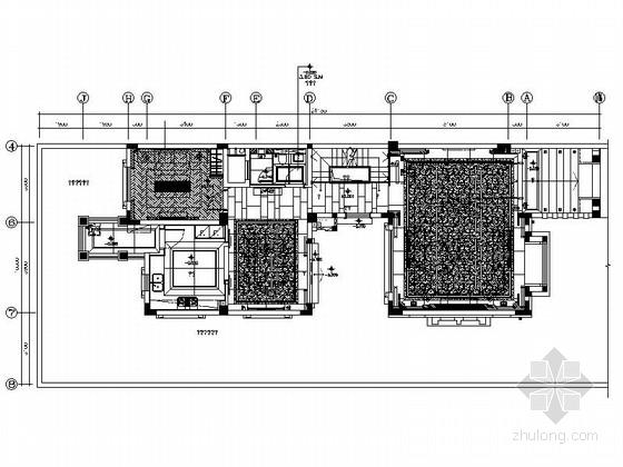 [成都]主题新城三层现代别墅装修图