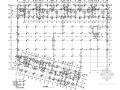 地下一层大型地下室结构施工图
