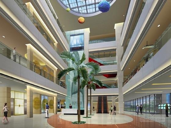 [南通]时尚现代国际贸易中心装修设计方案