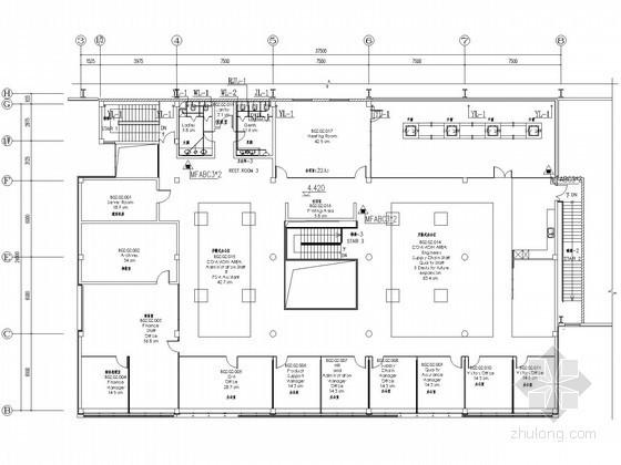 [江苏]厂房及办公用房给排水图纸(太阳能热水)