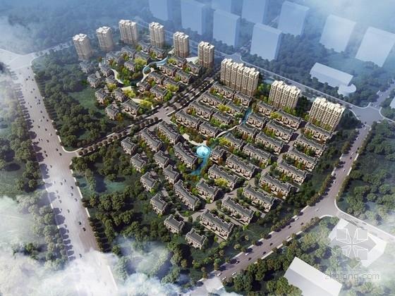 [北京]欧式风格住宅区规划设计方案文本
