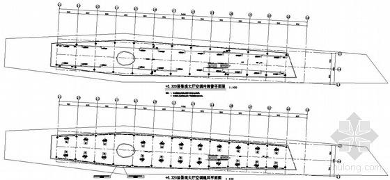 武汉某文化中心空调通风图