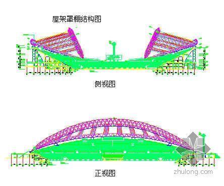 黑龙江某国际会展体育中心钢结构施工方案(管桁架 跨度247m 龙江杯)