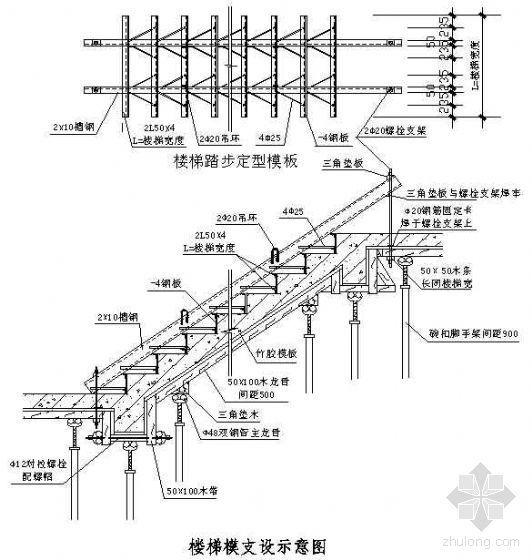 佛山某体育场模板施工方案