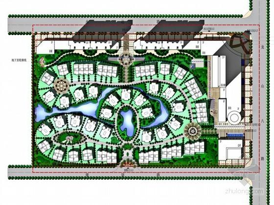 [惠州]居住区概念规划方案设计