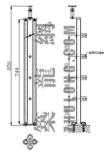 不锈钢点式栏杆扶手5