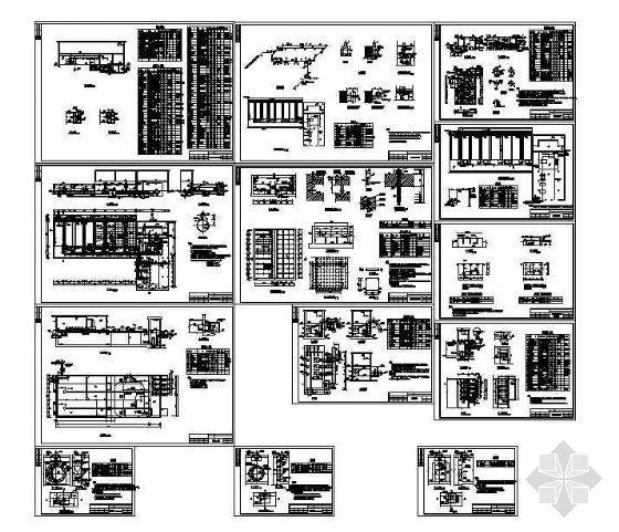 某市再生水厂工程施工图