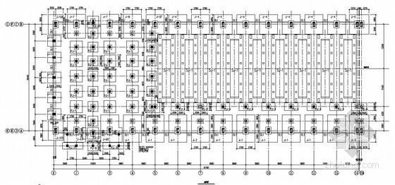 电解铝厂房基础施工图