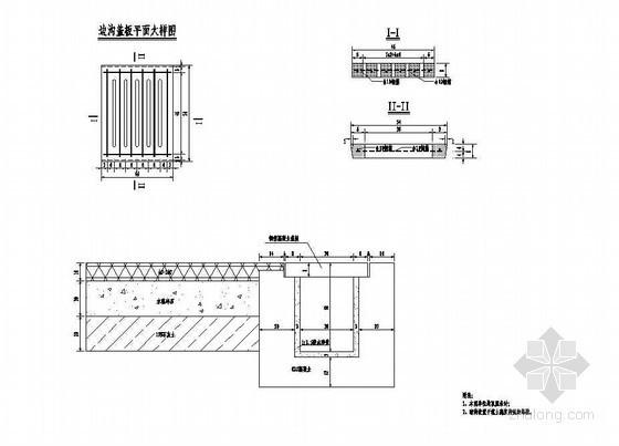 公路改造工程路基路面排水工程(暗沟)节点详图设计