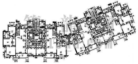 某多层住宅标准层平面设计方案