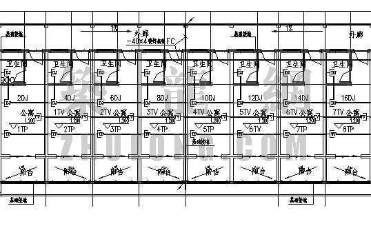 老年人公寓楼资料下载-某老年公寓水电设计