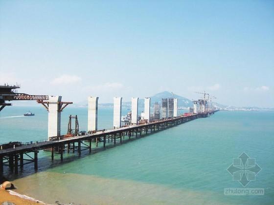 跨海公铁两用大桥工程实施性施工组织设计249页(悬臂现浇 深水大直径钻孔桩)