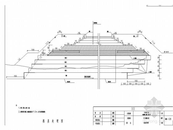 市政道路工程竣工图(路基路面 排水 31张)