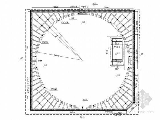 16米深基坑支护设计计算书(桩撑)
