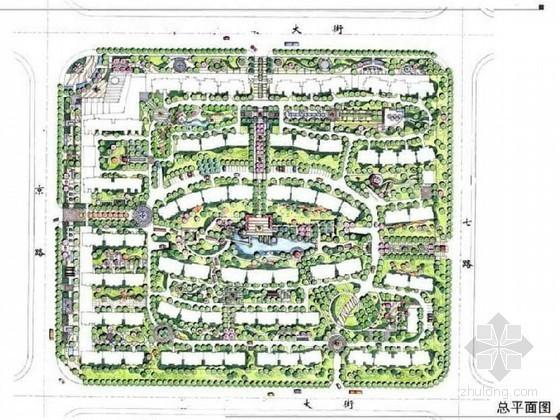北京高档小区景观设计方案资料下载-北京高档小区景观设计方案