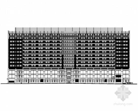 [重庆]某13层医院综合楼建筑施工图