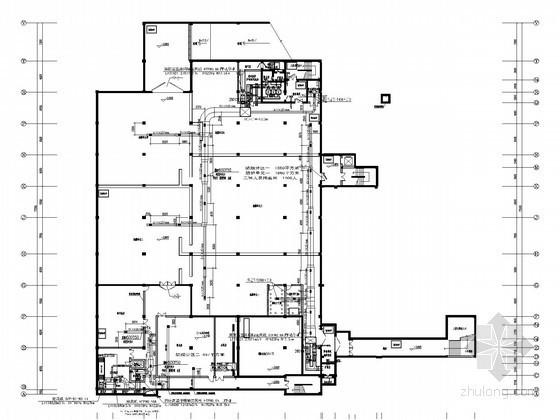 [浙江]办公楼及仓库通风防排烟系统设计施工图(含人防系统)
