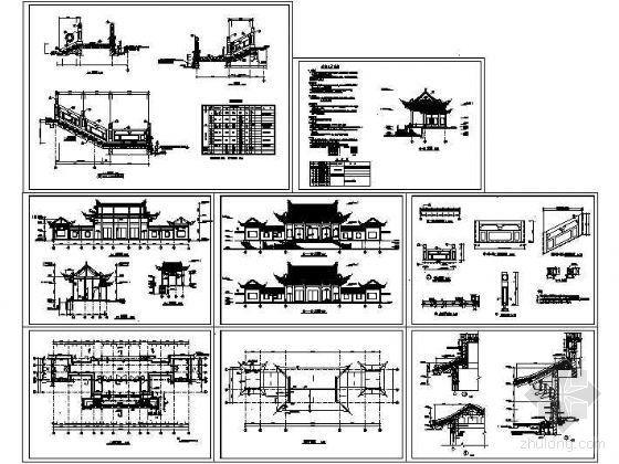 东王府殿古建成套施工图-3