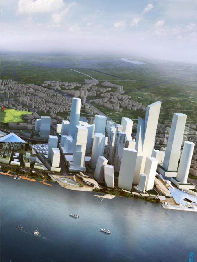 [江苏]滨江项目城市设计概念方案国际征集作品_2