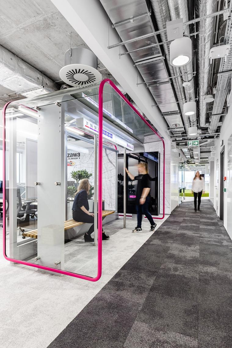 #办公空间设计案例#波兰MediaCom总部办公室-004-MediaCom-Warsaw-by-Workplace