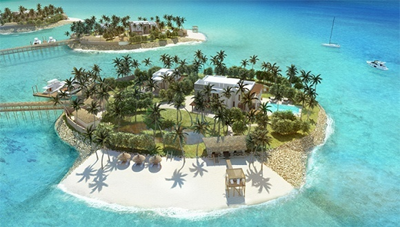 造价16亿的桑岛琥珀度假村 还包括一所私人国际学校