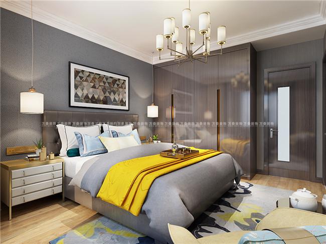 海珀天沅装修设计150平现代简约风格惊艳了我的家|济南万泰装饰