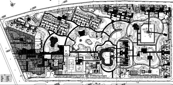 [浙江]滨江精工豪宅居住区屋顶花园景观设计全套园建施工图
