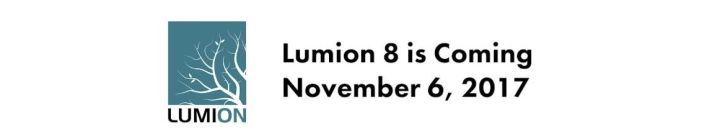 Lumion8,下月6日强势来袭!(附安装包)