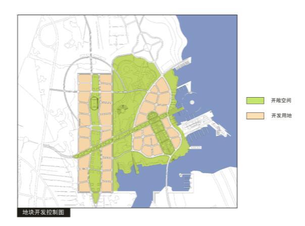 抚州市城市新区中心区控制性详细规划设计方案-地块开发控制图