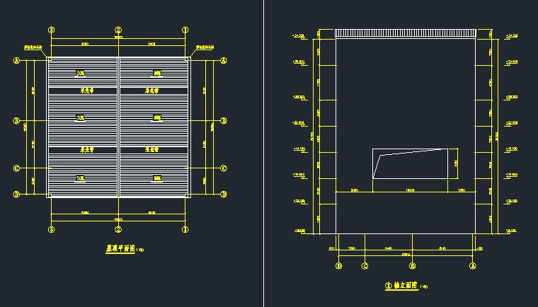7层钢框架机械制样楼结构施工图_6