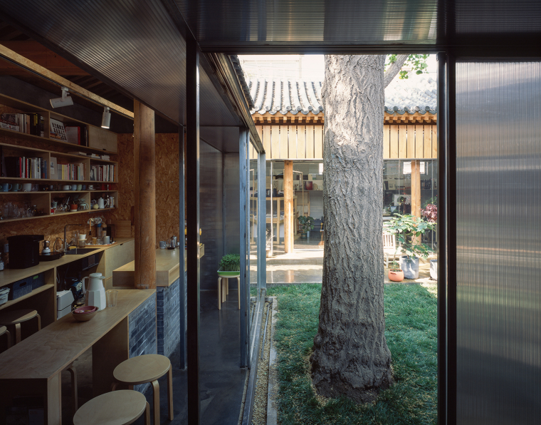 北京胡同中的工作室改造-10
